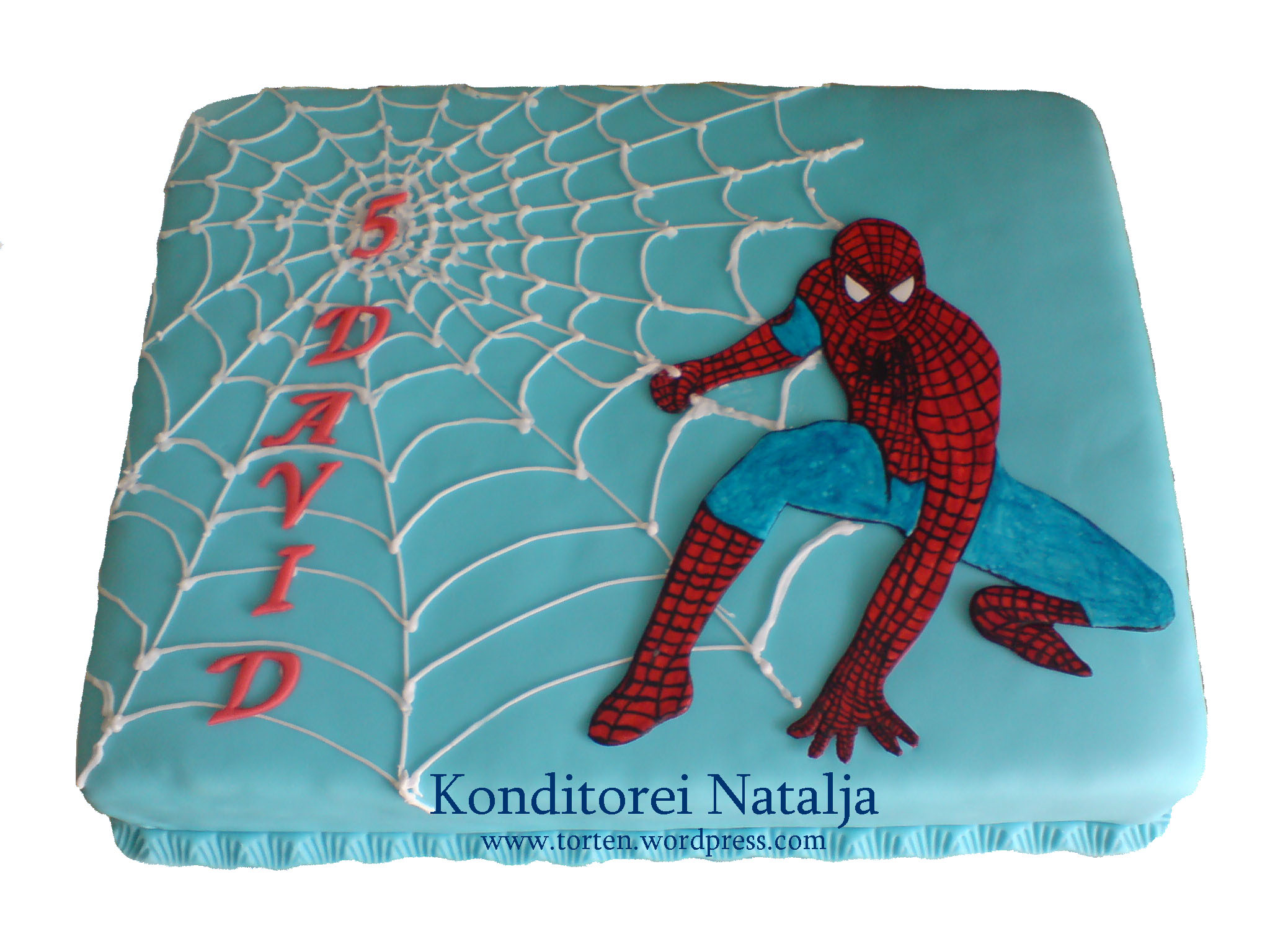 spider man torte die kindergeburtstagstorte f r comicfans konditorei natalja. Black Bedroom Furniture Sets. Home Design Ideas